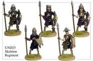 UND25 Skeleton Regiment