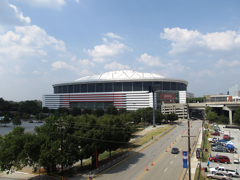 Mercedes benz stadium american football wiki fandom for Mercedes benz georgia dome