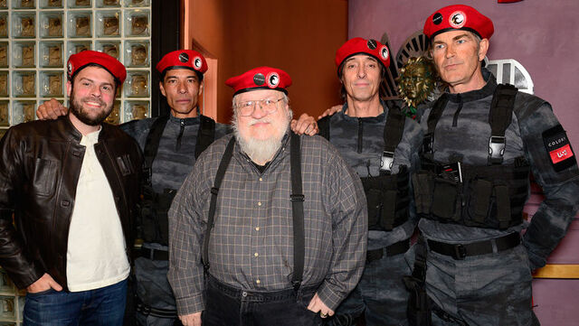 File:George R.R. Martin, Ryan Condal and friends.jpg