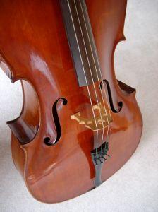 1008401 corpus of on old cello