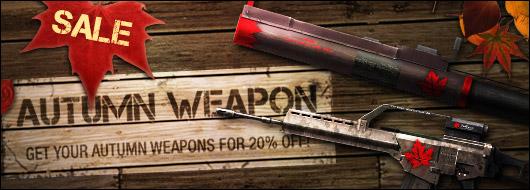 Autumn Weapon Sale