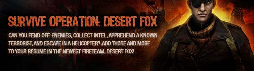 Nexon's desert fox banner