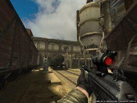 INSAS Rifle Hold