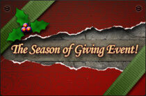 'Tis the Season to be Gifting Banner