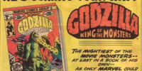 MARVEL COMICS: Godzilla King of the Monsters