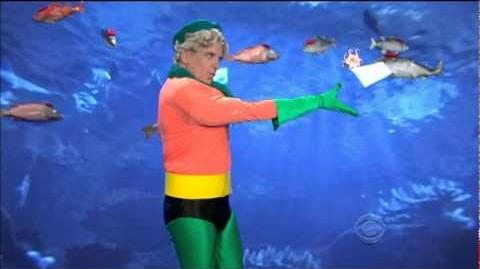 Craig Ferguson Late Late show Aquaman - Homme de Aqua