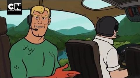 Aquaman vs. Wild MAD Cartoon Network