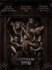 Gotham s2 3d statue