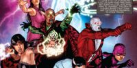 DC COMICS: Constantine bio Backward writing