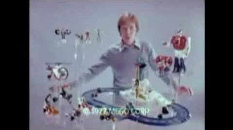 1977 MEGO Micronauts Commercial