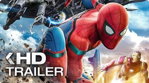 SPIDER-MAN Homecoming ALL Trailer & Clips (2017)