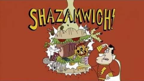 DC Nation Shorts - MAD Presents Shazamwich