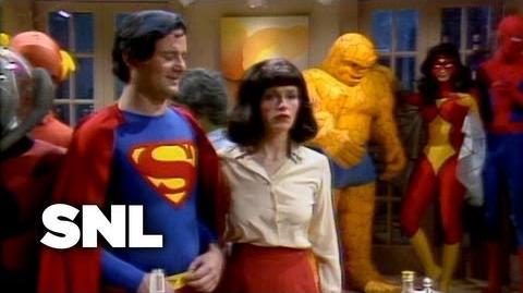 Superhero Party - Saturday Night Live
