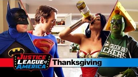 An Awkward JUSTICE LEAGUE THANKSGIVING
