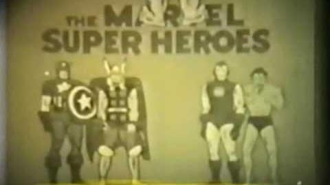 1966 MARVEL SUPERHEROES SHOW INTRO