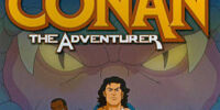 MARVEL COMICS: World Of Conan (Conan the Adventure TAS)