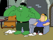 Family guy hulk