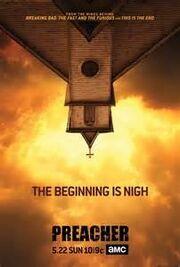 AMC Preacher promo poster