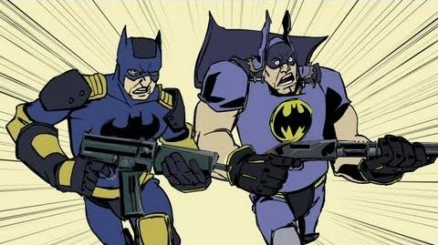 Gotham City Impostors - Animated Short 3 Video