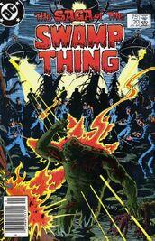 Saga of swamp thing 20