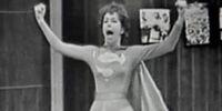 DC COMICS: Garry Moore Show 1962 (Carol Burrnet Supergirl)
