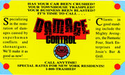 Damage control business card 1989