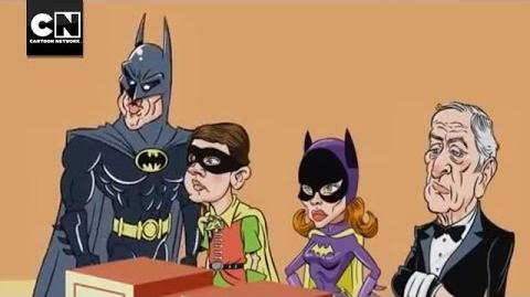 Batman Family Feud DC Nation Cartoon Network