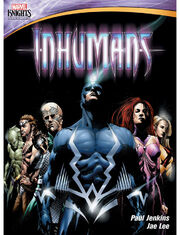 Marvel animation inhumans