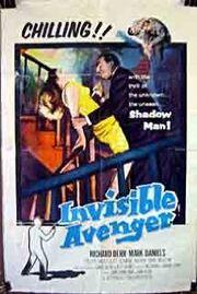 1958 the invisable avenger