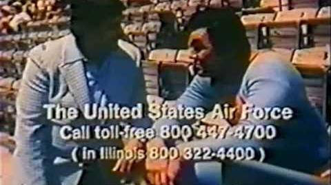 1974 Superman Air Force PSA Commercial