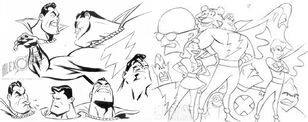 Alex ross shazam cartoon