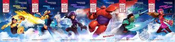 Disney Big Hero 6 Group Shot 1A