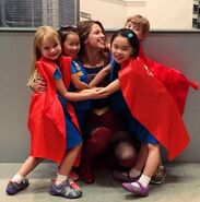 Supergirl meets Super Girl Scouts 2
