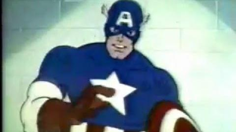 Captain America on saving energy (1980)