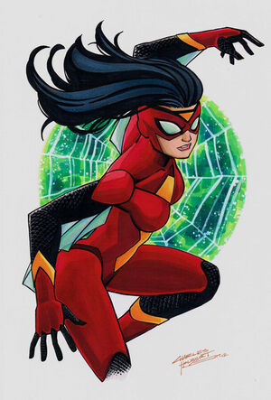 Spider woman by kidnotorious