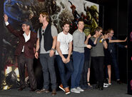 Marvel's Avengers Age Of Ultron Hall H Panel Booth Signing 503581083 AE 2209 6AD19124D7721185050F2D203E57F051