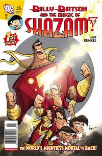Billy Batson and the Magic of Shazam 1