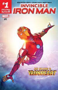 Invincible Iron Man 2016 1