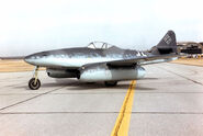 Messerschmitt Me 262A at the National Museum of the USAF