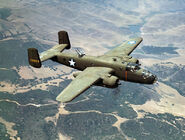 North American Aviation's B-25 medium bomber, Inglewood, Calif