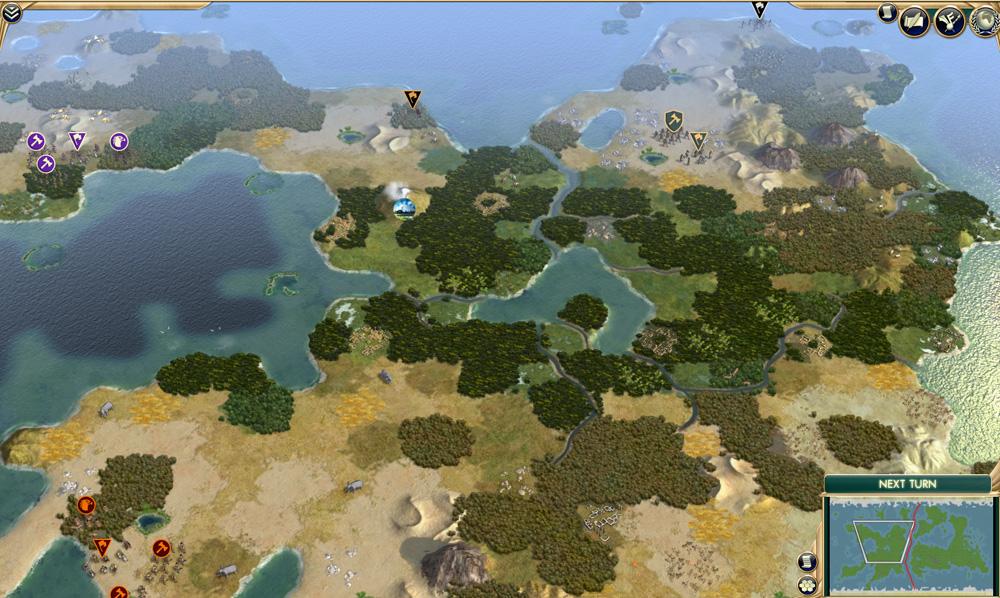 Civilisation 5 Map S - vaultxsonar