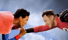 Super Abed VS Super Jeff