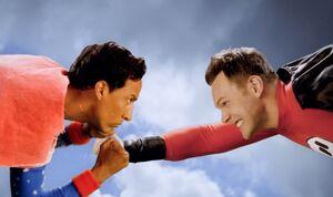 Super Abed VS Super Jeff