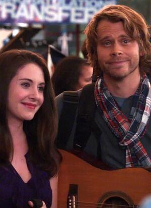 Annie and Vaughn