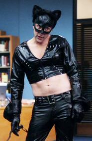 Dean as Catwoman