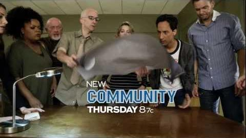 """Watch Community on NBC -- Thursdays at 8 7c!"""