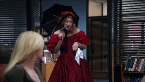 2X22 Dean as Scarlet O'Hara