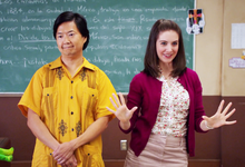 ITS Enthusiastic Annie and Annoyed Chang