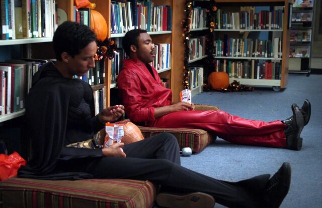 File:Troy and Abed Batman and donuts.jpg