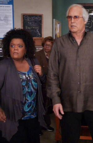 Shirley and Pierce Season One